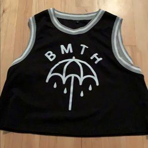 BMTH Crop Jersey